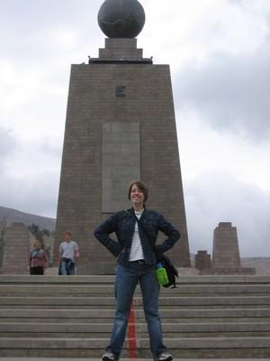 Sarah@equator